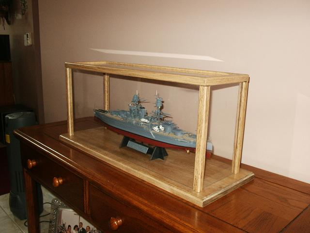 Custom display cases enhance and protect your model art - Custom display cabinets ...