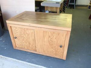 Cabinet rough complete b4 finish