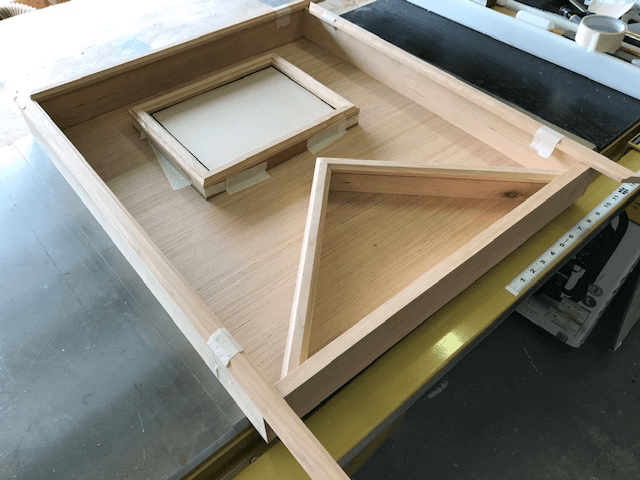 American Flag Display Case Assembly
