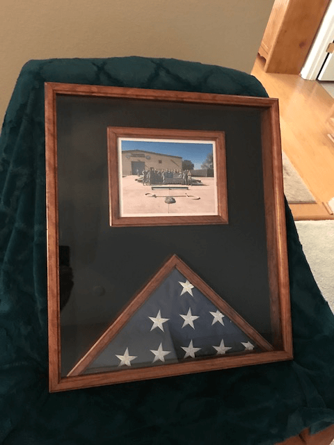 America Flag Display Case
