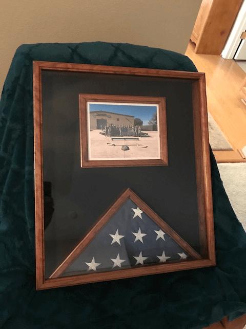 America Flag Display Case