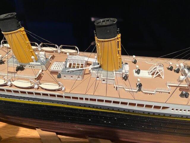 titanic ron baluch custom display case 1