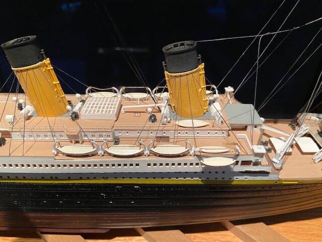 titanic ron baluch custom display case 2