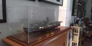 Aircraft Carrier Display Case