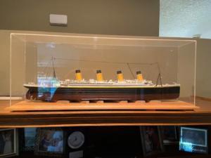 Ron Baluch Titanic custom display case