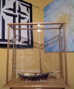sailboat display case