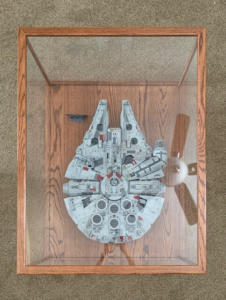 star wars display case overhead