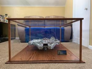 star wars display case front