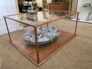 star wars display case back