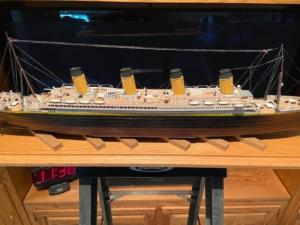 titanic ron baluch custom display case 4