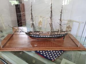 USS Constitution Model Ship Display Case