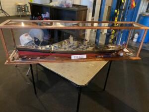 ussiowa model ship display case