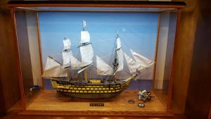 Boat Display Case