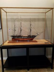 Ship in a Custom Display Case