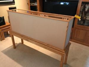 Display Case with table