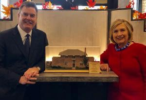 Grandpa's Cabinets goes Presidential with this model display case