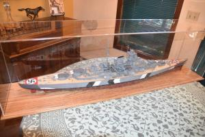 Jim Farren's Bismarck Custom Display Case