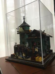 Lego  Lego display caseDiarama