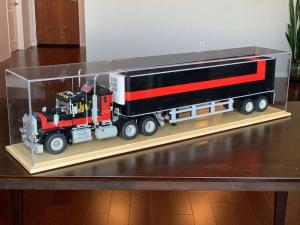 Lego Truck lego display case