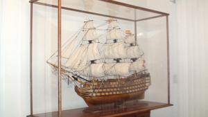 Model Ship Display Case